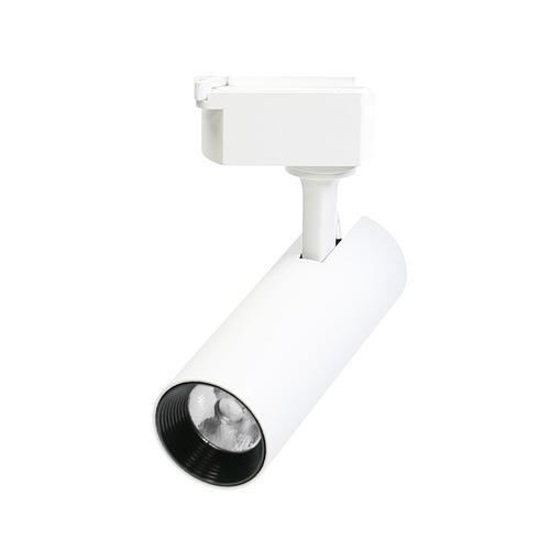 LED軌道燈 10W COB高亮度 白殼 長筒
