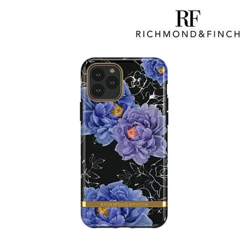 RF瑞典手機殼|Richmond & Finch| 盛開牡丹 - 金線框