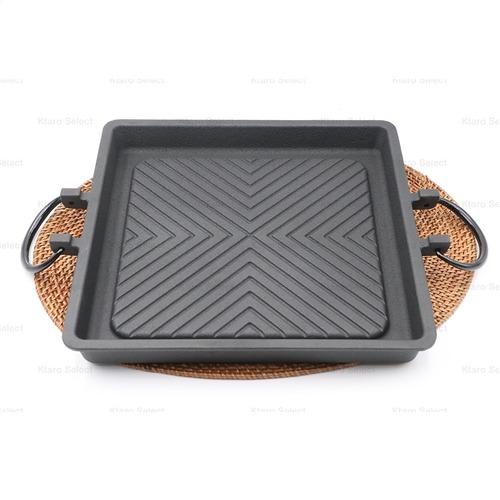 【南部鐵器】烤肉烤盤 角型