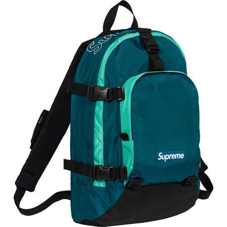Supreme FW19 Backpack Teal
