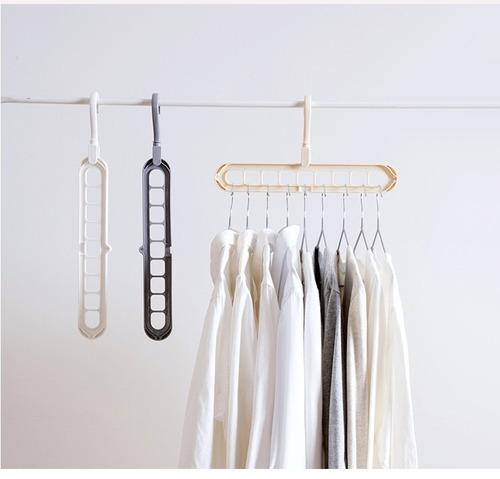 日系多功能衣架 直/橫兩用 魔術衣架 衣架 曬衣架 收納衣架 乾濕可用 居家
