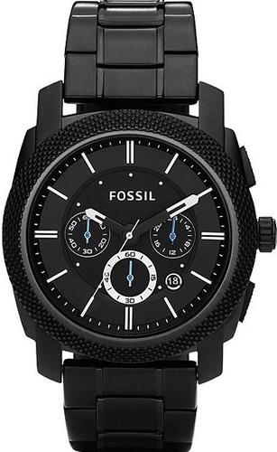 萬年鐘錶 Fossil 三眼計時男錶 FS4552