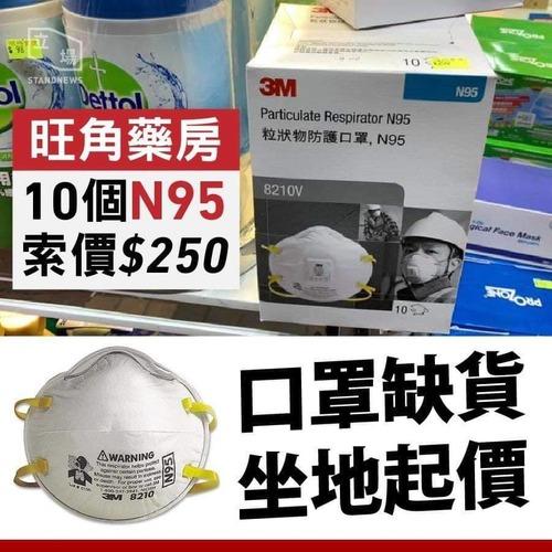 M3 N95 型口罩