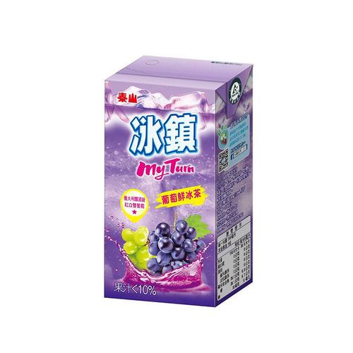 泰山冰鎮葡萄鮮冰茶300ml*6入【喜互惠e直購】
