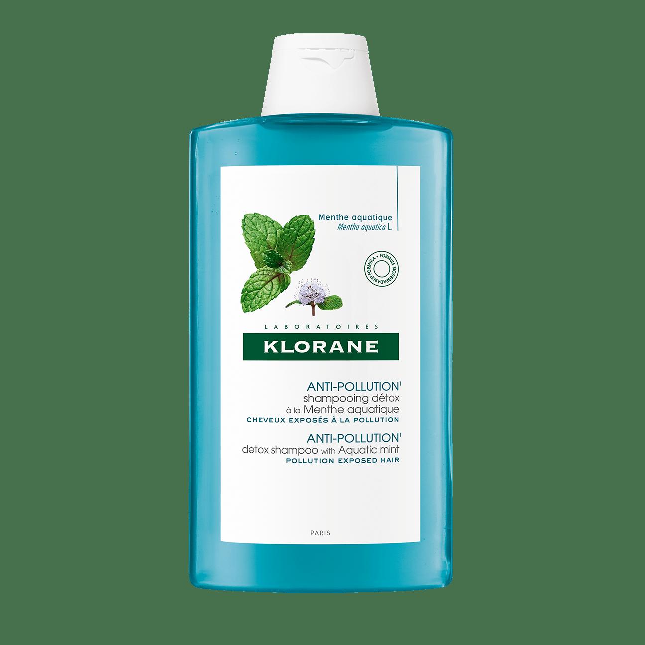 KLORANE 水薄荷淨化洗髮水 400ml