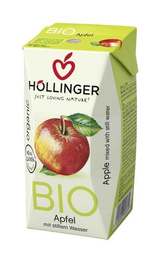 奧地利Hollinger有機無加糖蘋果蜜果汁 | 無加糖果汁 | 純素果汁 | 蘋果汁 | 有機果汁