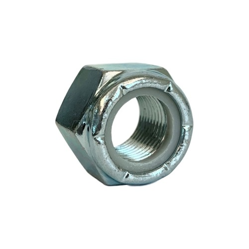 GR-A 尼龍防鬆鎖定螺帽 (三價鉻白鋅) | Dr.720 五金博士
