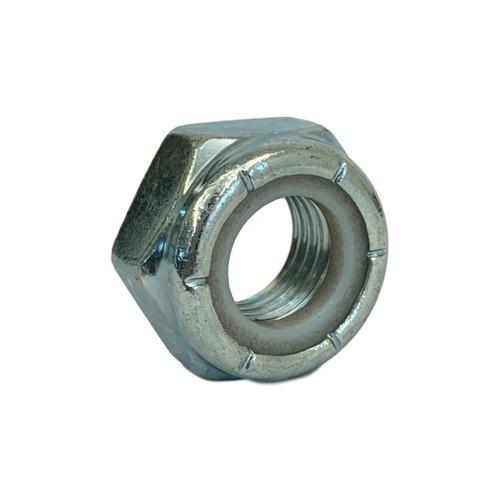 GR-A 重薄型尼龍防鬆鎖定螺帽 (三價鉻白鋅) | Dr.720 五金博士