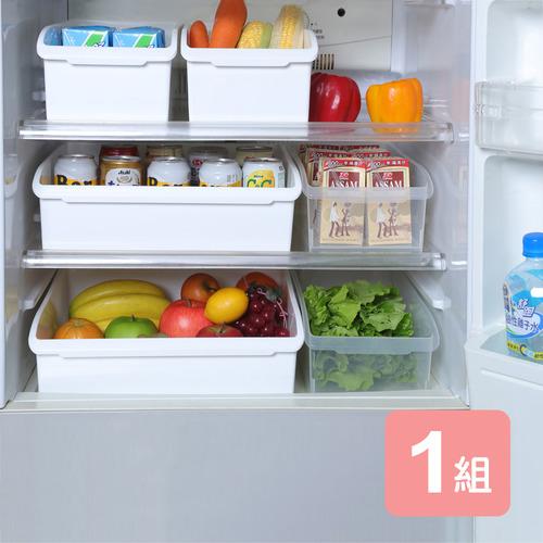 《真心良品》廚櫃附輪整理收納盒-6入組