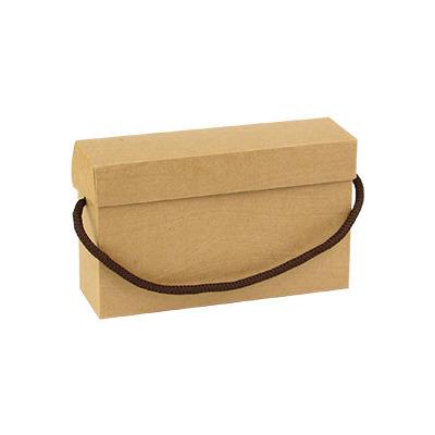 掀蓋提盒 牛皮無印-壓木紋 |荷包袋包裝