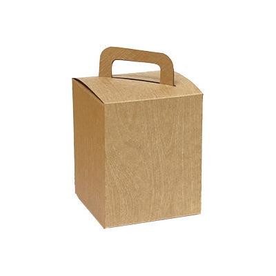 方型提盒 牛皮無印-壓木紋 |荷包袋包裝