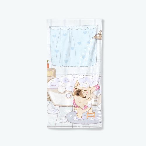 【洗香香法鬥】浴巾小毯