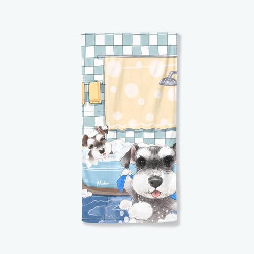 【洗香香小雪】浴巾小毯
