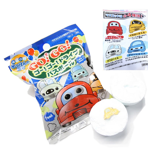 日本 玩具入浴球/泡澡球 小汽車
