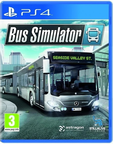 PS4 巴士模擬器  Bus simulator 中英日文版 Chinese/English Ver