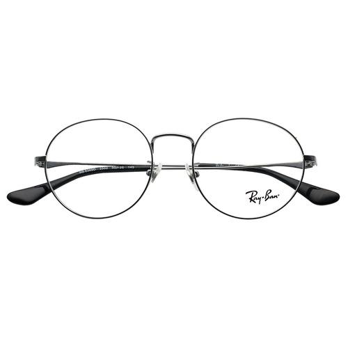 Ray-Ban RB6369D│雷朋男女復古個性金屬全框眼鏡