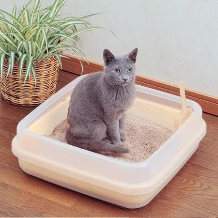 IRIS《雙層》果凍色貓砂盆CA-400N_小|2019年最推薦的品牌都在friDay購物