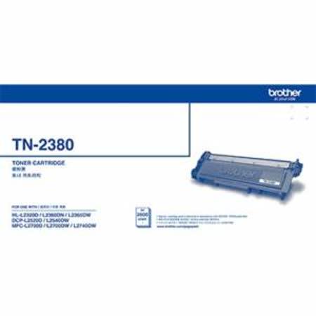 Brother TN-2380 原廠高容量黑色碳粉匣|2020年最推薦的品牌都在friDay購物