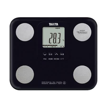 TANITA 七合一自動辨識體脂肪計BC751(黑) 2020年最推薦的品牌都在friDay購物