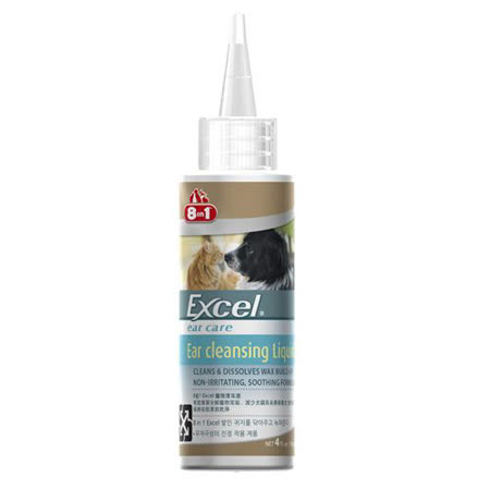 【美國8in1】EX 寵物清耳液 4oz 犬貓清洗耳朵|2020年最推薦的品牌都在friDay購物
