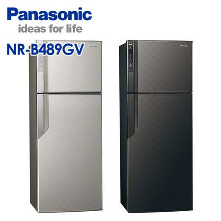 Panasonic 國際牌 485公升 ECONAVI系列雙門變頻冰箱 NR-B489GV -friDay購物