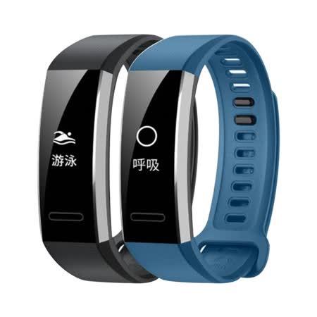 【HUAWEI 華為】Band 2 Pro 黑色 運動型50米防水GPS智慧手環|2019年最推薦的品牌都在friDay購物
