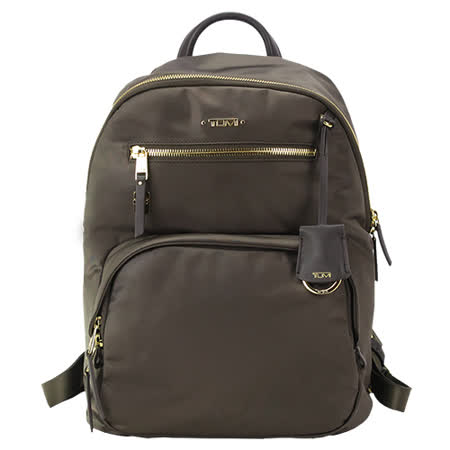 TUMI VOYAGEUR HAGEN尼龍後背包(適用12吋筆電)-水貂灰|2019年最推薦的品牌都在friDay購物