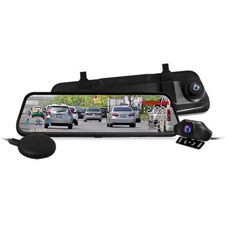 CARSCAM行車王 GS9400 GPS測速全螢幕觸控雙1080P 後視鏡行車記錄器|2020年最推薦的品牌都在friDay購物
