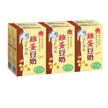 義美雞蛋豆奶250ml*6入 -friDay購物