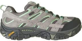 Merrell Moab 2 Waterproof Hiking Shoe – Women's – Drizzle/Mint