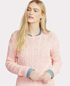 Ralph Lauren – Pink Pony Cable Cotton Sweater