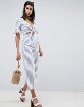 Tea Jumpsuit in Stripe