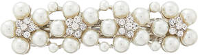 Accessorize Pearl & Crystal Flower Barrette Hair Clip