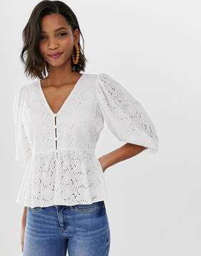 White Tea Blouse
