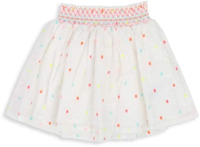 Billieblush Little Girl's & Girl's Smocked-Waist Skirt