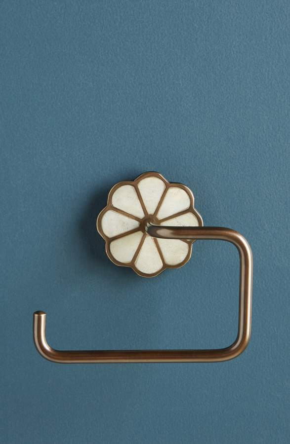 Anthropologie Botanist Toilet Paper Holder