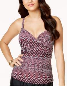 Island escape gemini underwire push up tankini top created for macy   women swimsuit also swimwear shopstyle rh