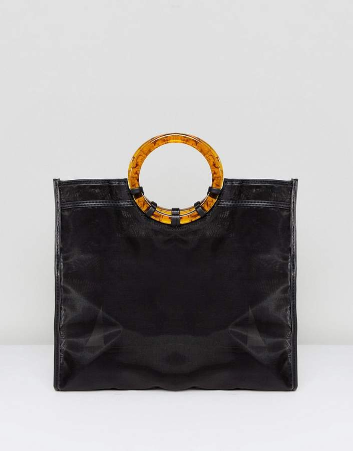 Asos Design ASOS DESIGN organza shopper bag