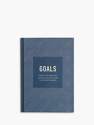 kikki.K Goals Journal Inspiration, Navy