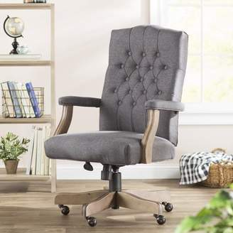 harith high back leather executive chair pink lawn homes shopstyle at wayfair three posts wurthing