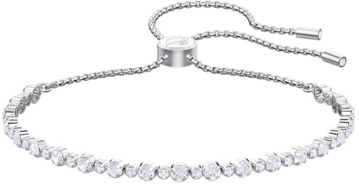 Swarovski Trilogy White Crystal Bracelet