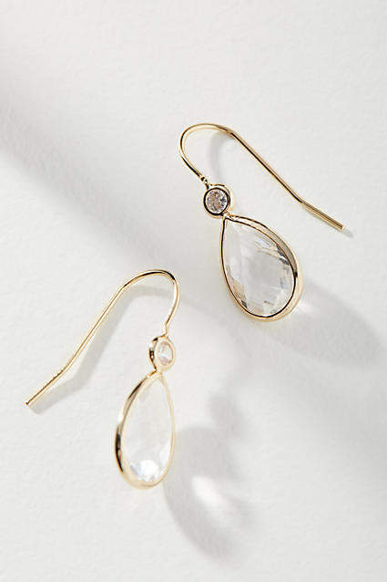 Anthropologie Vera Mini Drop Earrings