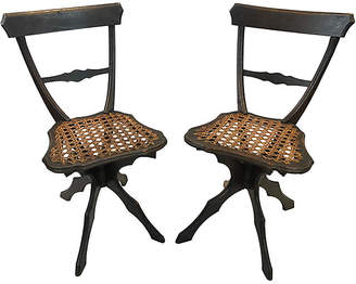 antique cane chairs chair covers on sale shopstyle one kings lane vintage french heather cook antiques