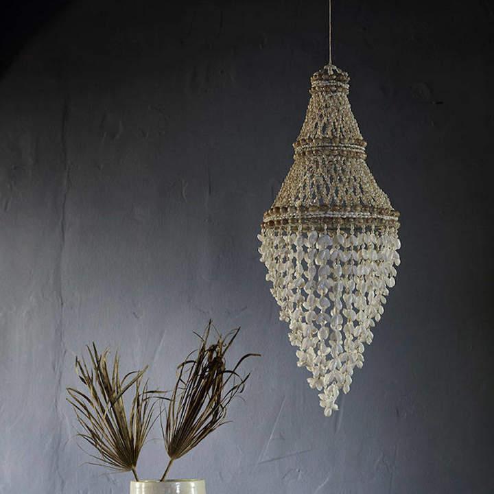 Idyll Home Shell Pendant Light