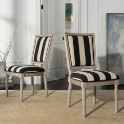 Striped Dining Chair Folding For Living Room Chairs Shopstyle Safavieh Buchanan 2 Piece Set