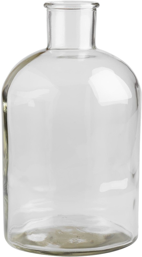 Cost Plus World Market Wide Neck Clear Glass Vase