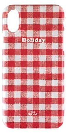 Gingham Check Phone Case - Holiday