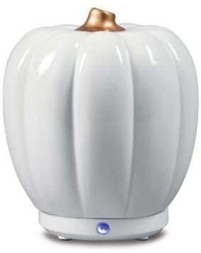 SpaRoom Pumpkin USB Ultrasonic Essential Oil Diffuser - Loving this cute pumpkin diffuser for fall. Putting one of the essential oil fall diffuser blends would fit so perfectly with this piece.