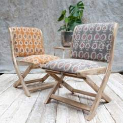 Upholstered Folding Chairs Uk Oztent King Kokoda Chair Review Wood Shopstyle At Notonthehighstreet Com Co The Forest Mango