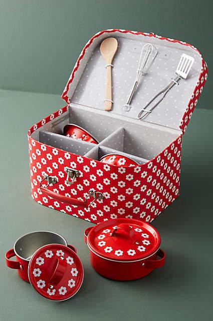 Sass & Belle Daisy Children's Cookware Set